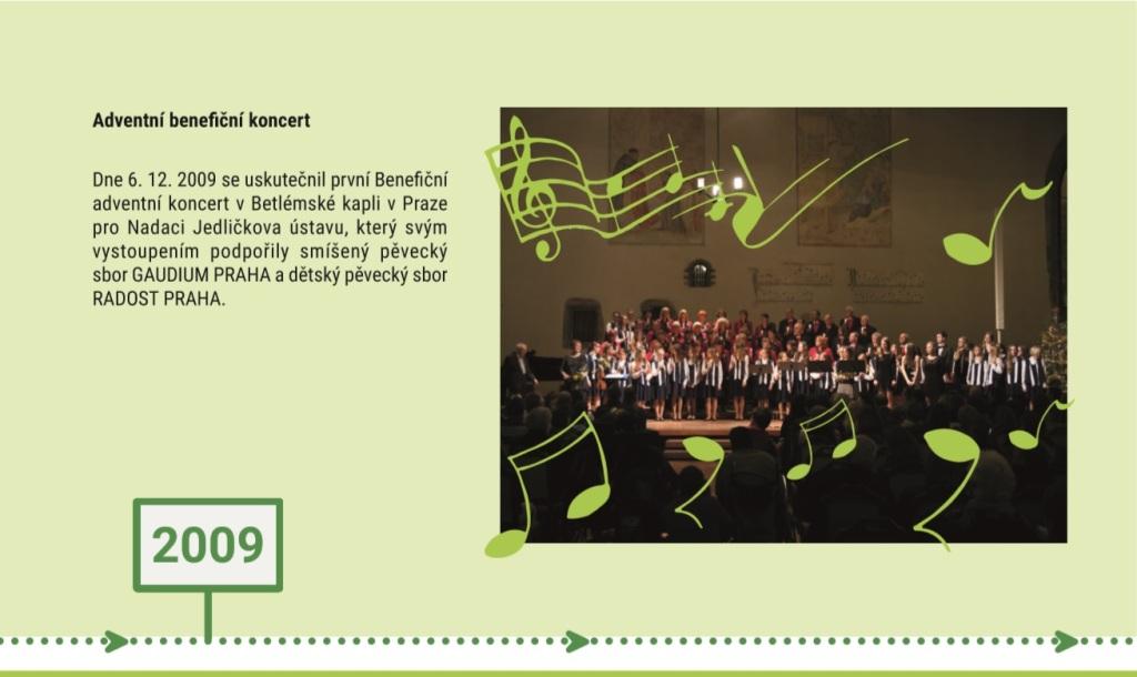 Slavíme 25 let Nadace Jedličkova ústavu - 2009
